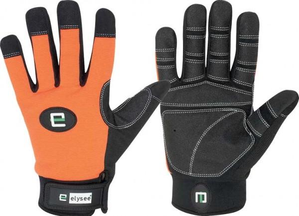 Builder Schutzhandschuh schwarz/orange