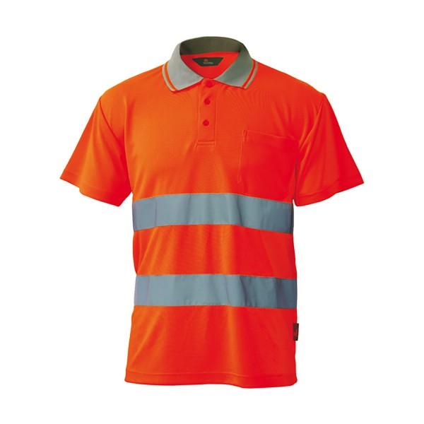 HEROCK Polo short sleeves Hochsichtbar