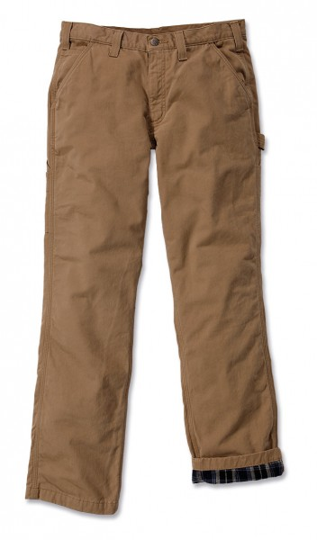 Carhartt - Washed Twill Dungaree Flannel Lined