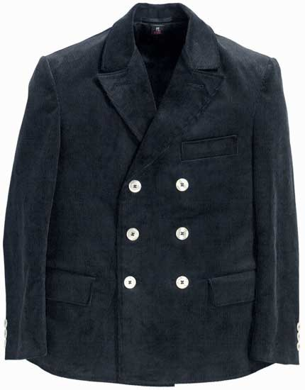 UWE - FHB Classic Trenkercord Jacke zweireihig