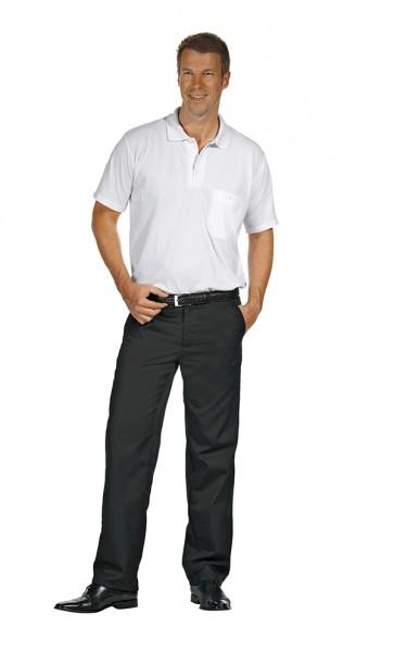 Leiber Herrenhose ohne Bundfalte