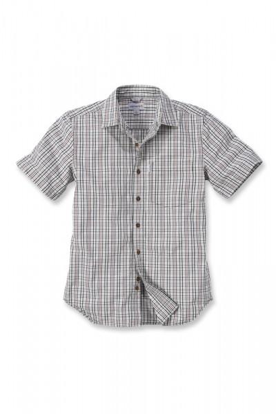 Carhartt - Slim Fit Plaid Short Sleeve Shirt