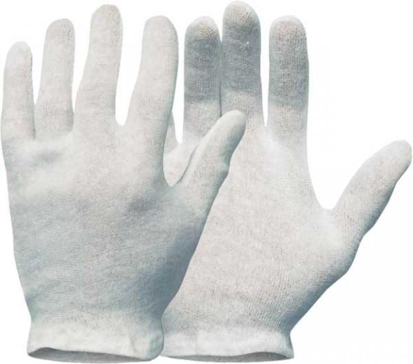 Trikot-Handschuhe aus Baumwolle