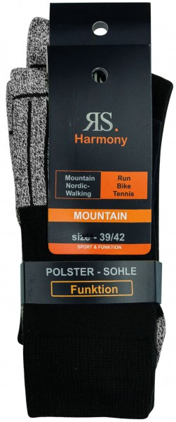 "FUNKTIONSSTRUMPF ""MOUNTAIN"" 2er Pack"