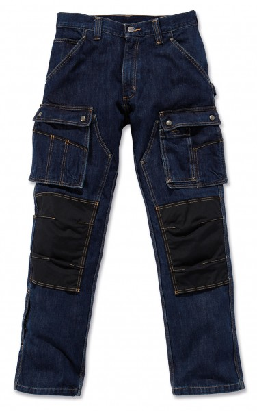 Carhartt - Denim Multi Pocket Tech Pant