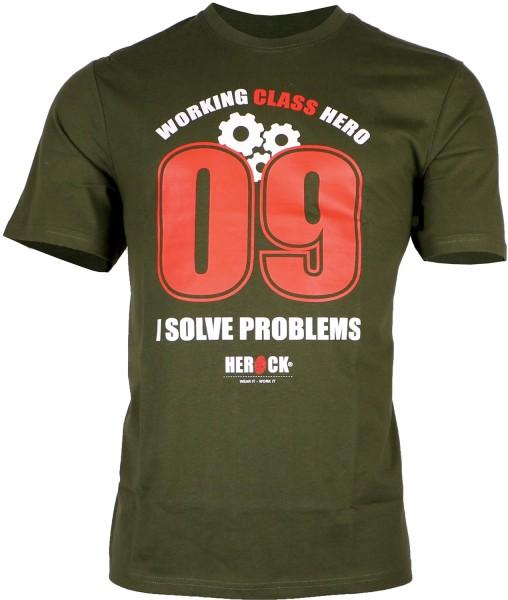 HEROCK Working Class T-Shirt Kurzärmlig