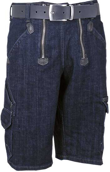 VOLKMAR - FHB Zunft-Bermuda Stretch Denim