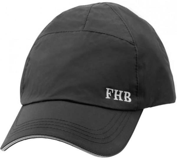 NIKLAS - FHB Cap schwarz wasserdicht