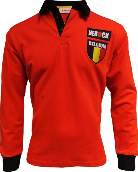 HEROCK Team Belgium Polo Langärmlig